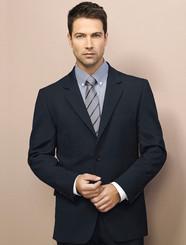 Mens 2 Button Wool Blend Jacket