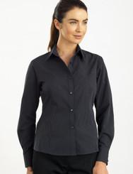 John Kevin Women's Long Sleeve Dark Stripe