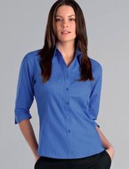 John Kevin Women's 3/4 Sleeve Tonal Stripe