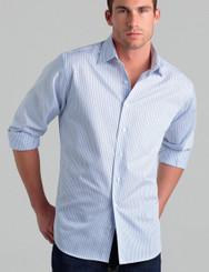 John Kevin Mens Long Sleeve 3 Way Stripe
