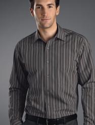 John Kevin Mens Long Sleeve Multi Stripe