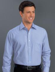 John Kevin Mens Long Sleeve Soft Stripe Shirt