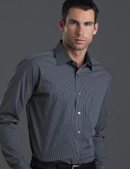 John Kevin Mens Long Sleeve Contrast Stripe Shirt