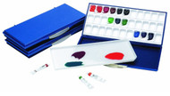 Martin Mijello Airtight Watercolor 33-Well Palette (Blue)
