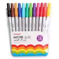 Monami Felt Tip Sign Pen Super Marker for Art Drawing Coloring Decorating