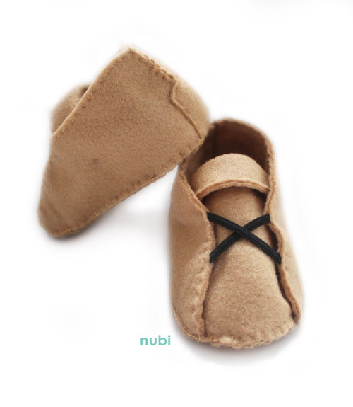 prewalker shoes light brown felt