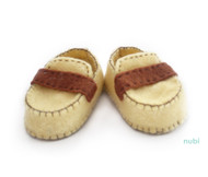 yellow baby moccasins baby shoes