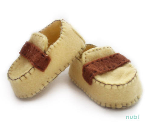 yellow baby boy moccasins