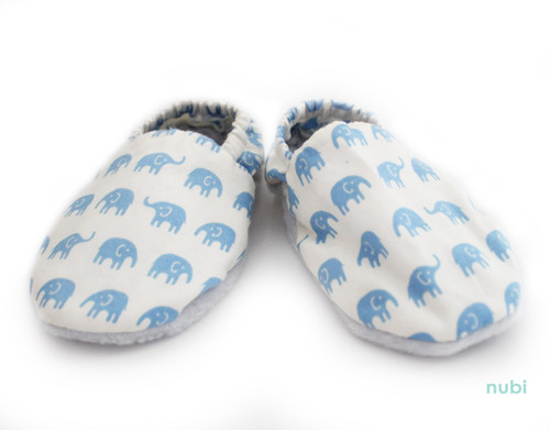 soft sole elephant baby shoes