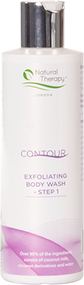 Contour Exfoliating Body Wash - Step 1