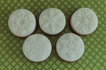 Peppermint Snowflake Soap Assortment