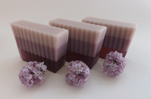 Lilac Soap Slices