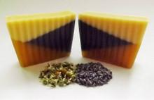 Chamomile Lavender Soap Slice