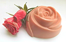 Large Pink Rose Soap