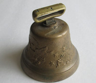 Original Civil War Patriotic Cavalry Bell, as in Lord's Encyclopedia