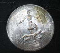 Rare silver-wash Civil War Confederate Virginia Button