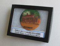 Early Gettysburg souvenir - Jennie Wade House Pocket Mirror
