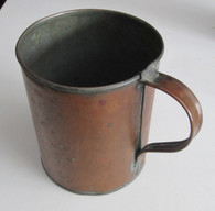 Very nice large copper cup (SOLD)