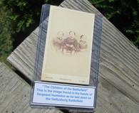 "Original Rare CDV Image of ""The Children of the Battlefield"", Gettysburg"
