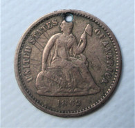 "1862 Civil War ""Love Token"" with name"