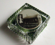 Early Gettysburg Souvenir Paperweight, Jennie Wade