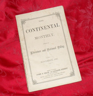 """Continental Monthly"", dated Nov. 1863"
