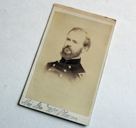 CDV Image of General James McPherson - Killed at Atlanta