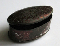 Civil War era Snuff Tin