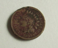 "Civil War era Penny, dated ""1859"""