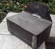Civil War era Tin Matchsafe