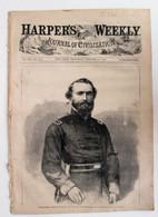 """Original Civil War """"Harper's Weekly"""" newspaper, dated October, 1863"""