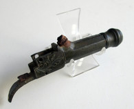 Excavated Boot Pistol with great history