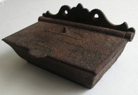 Cast-iron Barracks Match Box from Nashville