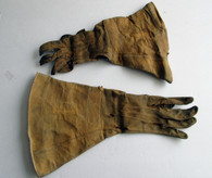 Identified Cavalry Gauntlets for Michigan Trooper, Custer and Gettysburg (SOLD)