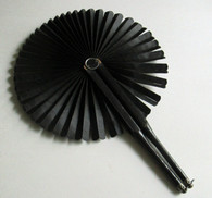 Civil War Widow's Mourning Fan