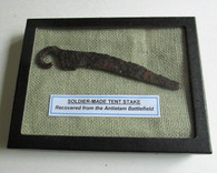 Soldier-made Iron Tent Stake from Antietam