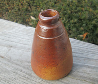 Civil War Cone Stoneware Inkwell