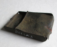 Soldier's Tin Match Box recovered in Dallas, GA