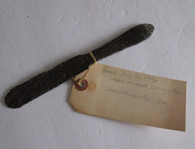 Civil War Soldier's Mess Knife with diggers tag (SOLD)