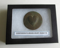 Confederate Heart Cavalry/Officer's Rosette