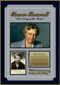 Eleanor Roosevelt Signed Photo