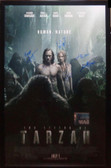 Legend Of Tarzan Cast Signed Movie Poster
