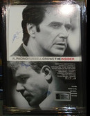 The Insider Movie Poster Signed by 3
