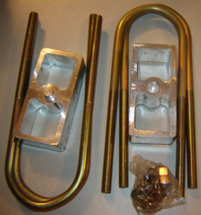 """2"""" drop rear lowering block kit for car/PU with 2-1/2"""" spring"""
