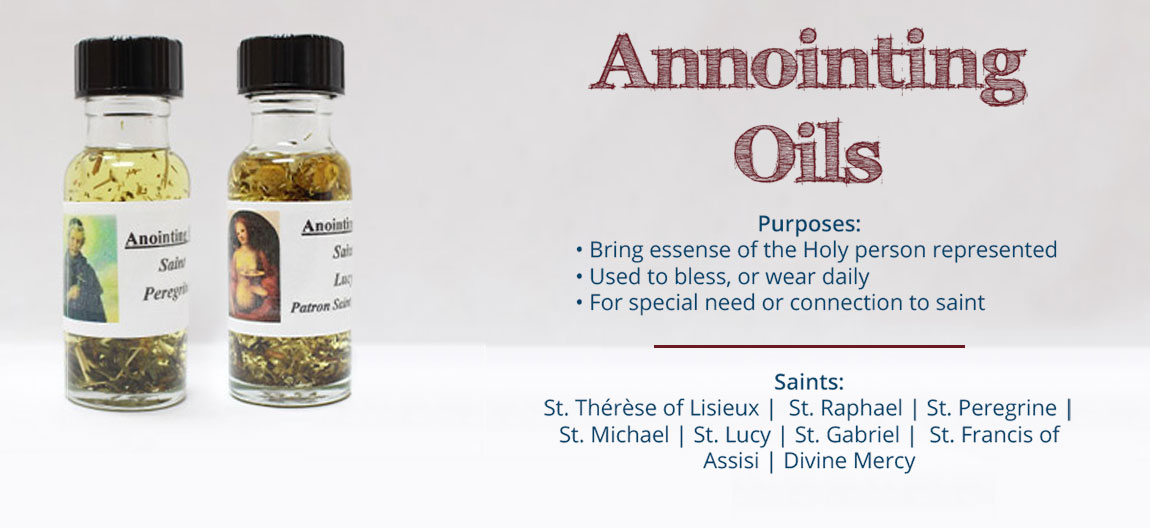 Annointing Oils