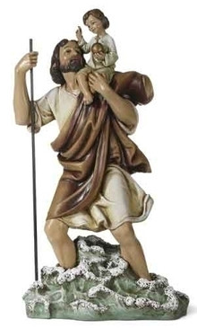 "St. Christopher Statue (10.75"")"