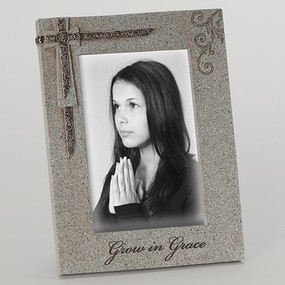 "Grow in Grace Confirmation Photo Frame (8"")"
