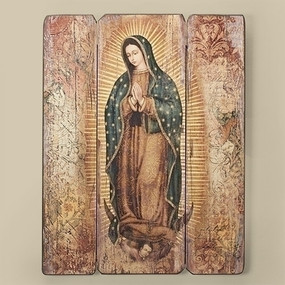 """Our Lady of Guadalupe Wall Plaque (17"""")"""