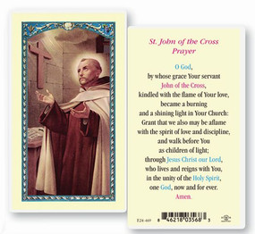 St. John of the Cross Prayer Laminated Holy Card