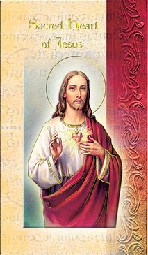 Sacred Heart of Jesus Biography Card